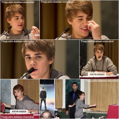 Never Say Never Press conference