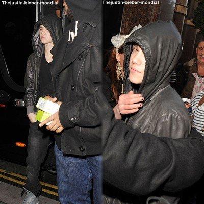 Justin à Liverpool