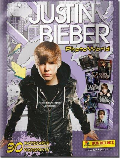 Nouveau ! : L'album Panini Justin Bieber !