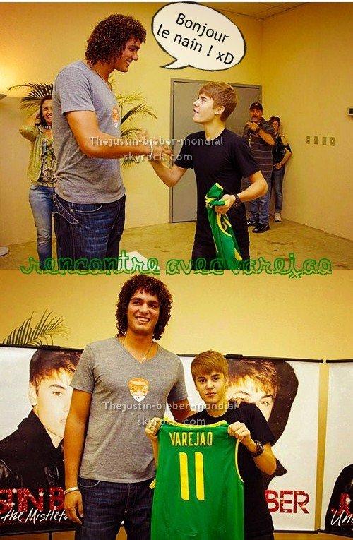 Justin rencontre Varejao