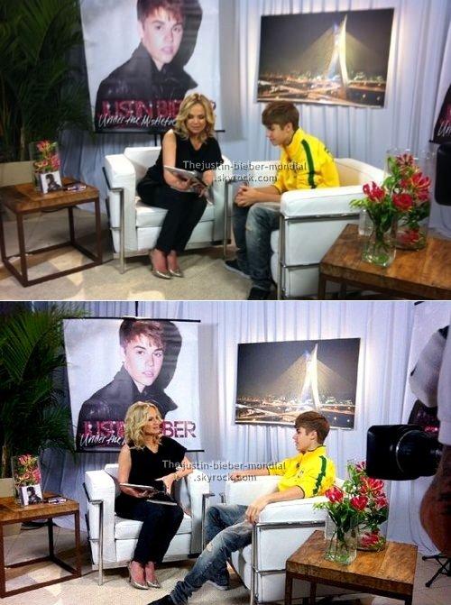 """Interviews promotionnels pour """"Under the Mistletoe"""""""