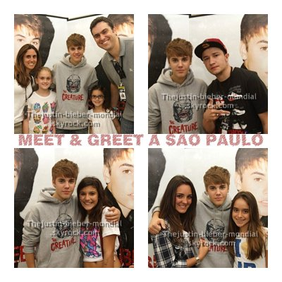 Meet & Greet à Sao Paulo