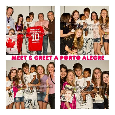 Meet & Greet à Porto Alegre