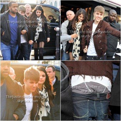 Candids : Justin à Paris