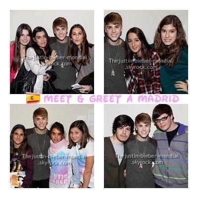 Justin à Madrid