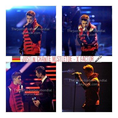 Justin dans X Factor