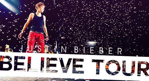 Le Believe Tour, c'est parti !