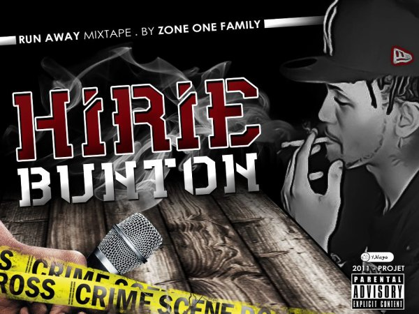 [ DJO BLACK RECORDZ ] / HIRIE BUNTON - ZONE ONE - [ DJO BLACK RECORDZ ] (2012)