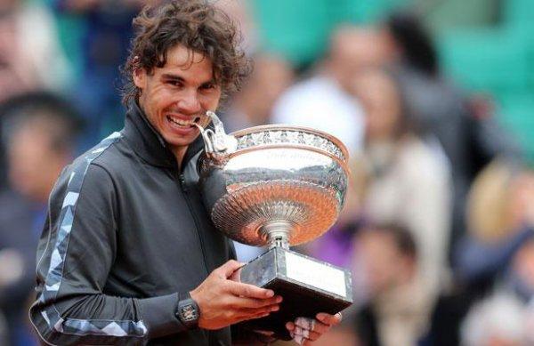 Victoire de Nadal à Roland Garros 2012!