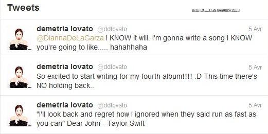 """Demi a accordé une interview à """"Associated Press"""" où elle évoque son plaisir de retourner en Europe et sa prochaine tournée en Amérique Latine."""