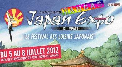 Info concernant la Japan Expo !