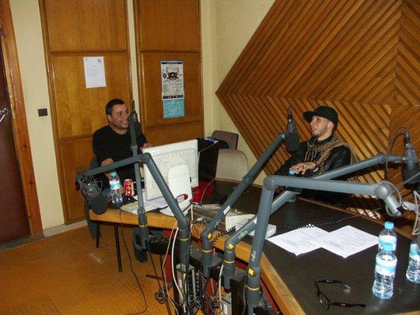 sur la radio :)