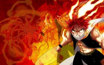 Natsu le dragonslayer a la puissance caché et son petit happy ^^
