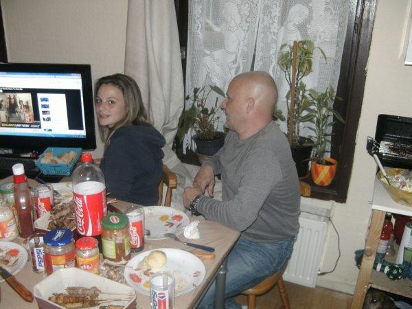 barbeuck chez nous   avec nos amis