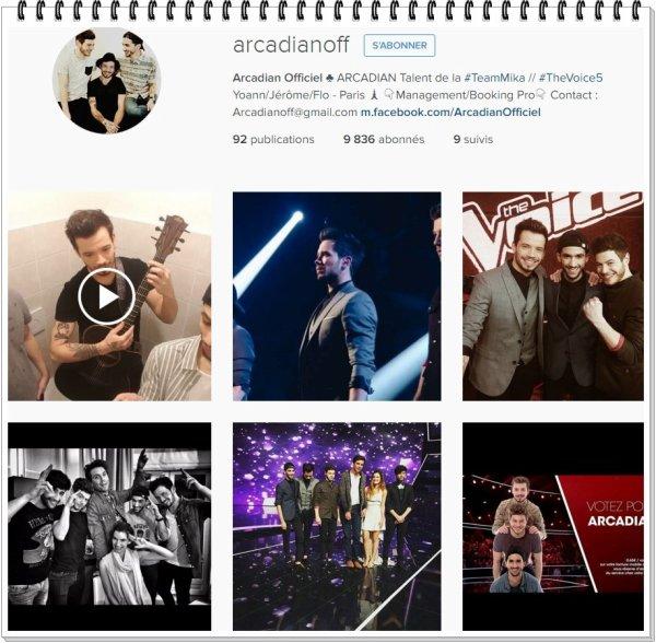 Instagram Arcadian