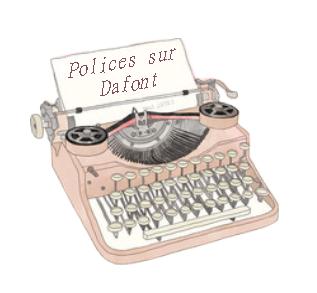 Polices sur Dafont