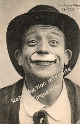 Je fus un Grand Clown, durant les Années ???