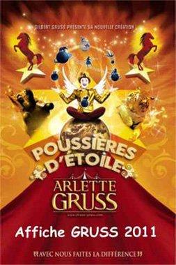 Affiche GRUSS 2011