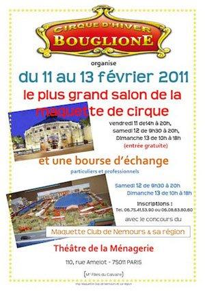 Expo Cirque 2011 chez Bouglione