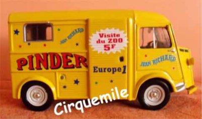 Miniatures du Cirque Pinder 3