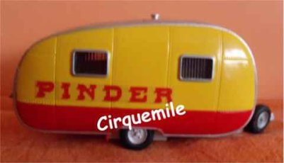 Miniatures du Cirque Pinder 2