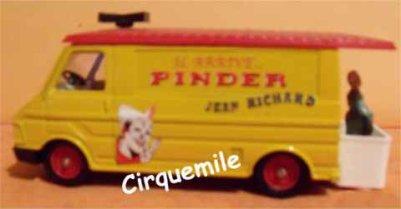 Miniatures du Cirque Pinder 1