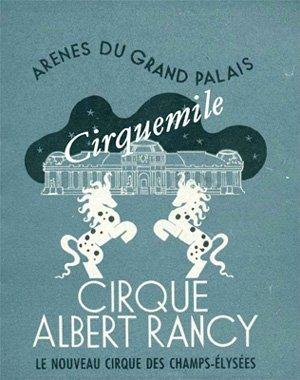 Affiche Cirque RANCY, l'un des Cirques de mon enfance ll