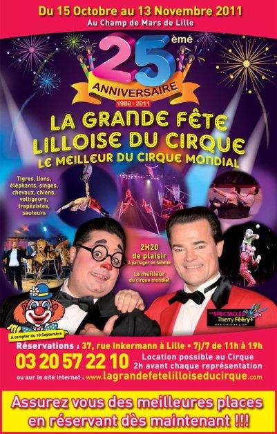 Fête Lilloise du Cirque 2011