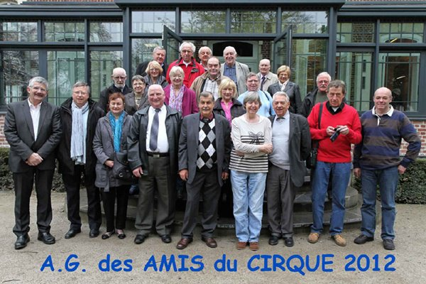 AG des Amis du CIRQUE 2012