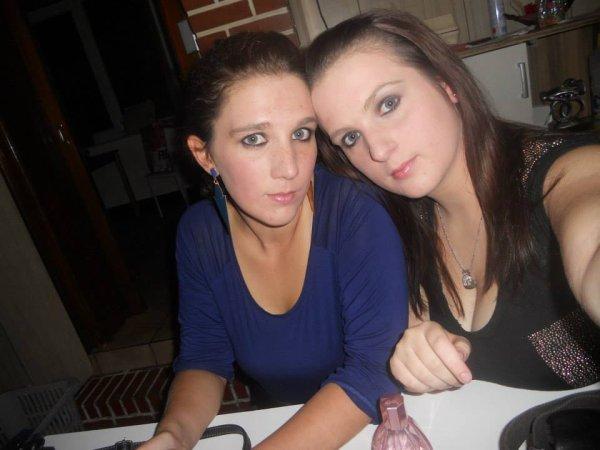 ma grande soeur a gauche et moi a droite :)