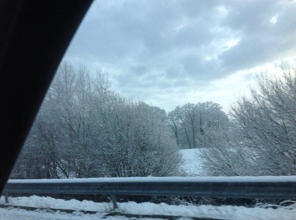 Obliger de prendre la route ce matin pour une réunion de co- propriété paysage magnifique en arrivant sur Dinard