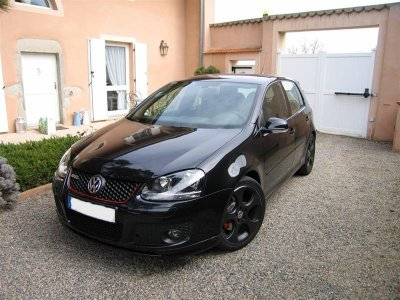 golf 5 gti noir ann 2008 mon garage a moi. Black Bedroom Furniture Sets. Home Design Ideas
