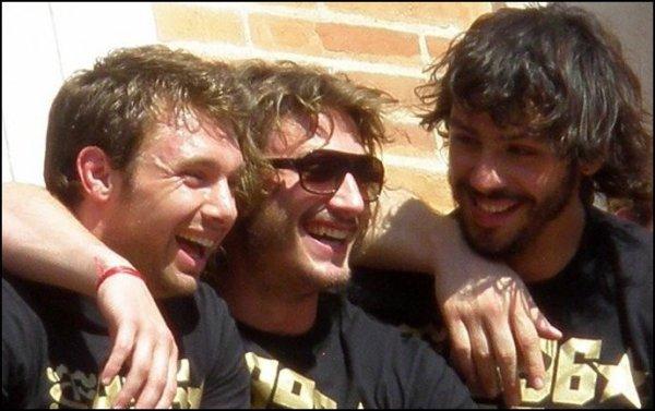 ~ Vincent Clerc, Maxime Médard & Clément Poitrenaud ♥