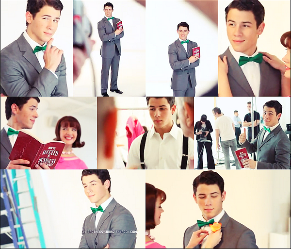 PHOTOSHOOT : Découvrez le behind the scene du photoshoot que Nick a fait pour How To Succeed.