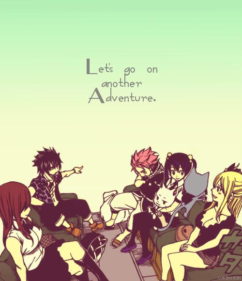 """""""Fairy Tail est une guilde de vauriens et de barges ... Mais ils sont très gentils et chaleureux."""""""