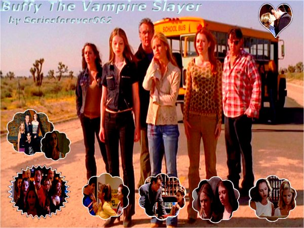 """Buffy contre les vampires 8-p          """"A chaque génération, il y a une Elue, seule elle devra affronter les vampires, les démons et les forces de l'Ombre, elle s'appelle Buffy."""" avec Sarah Michelle Gellar, Alyson Hannigan, Nicholas Brandon, Anthony Stewart Head, Emma Caufield,David Boreanaz, Charisma Carpenter, Eliza Dushku et James Marsters."""