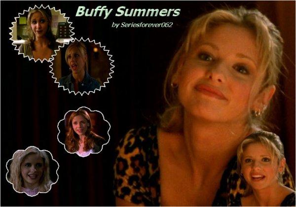 Présentation Personnages  Buffy Anne Summers ^^