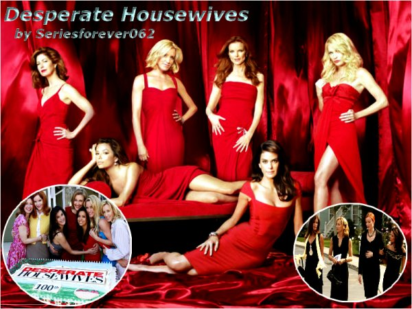 Desperate Housewives 8-p avec Teri Hatcher, Felicity Huffman, Marcia Cross, Eva Longoria, Ricardo Chavira, Doug Savant et James Denton.