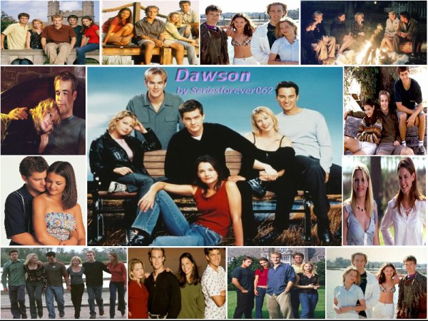 Dawson 8-p avec James Van Der Beek, Katie Holmes, Joshua Jackson, Kerr Smith et Michelle Williams.