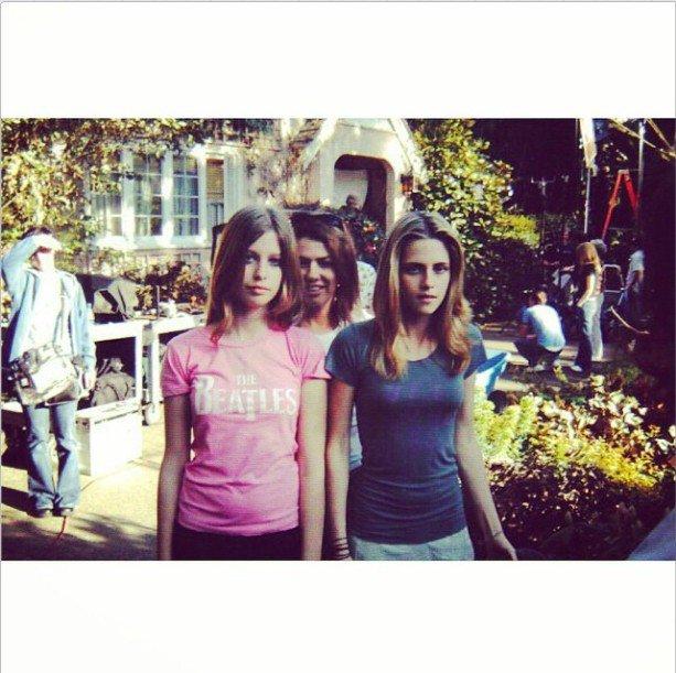 "Nouvelle photo BTS de Kristen Stewart de "" In the Land of Women """