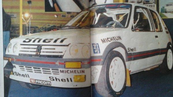 Salon de la voiture de course 1987 Echappement N°221