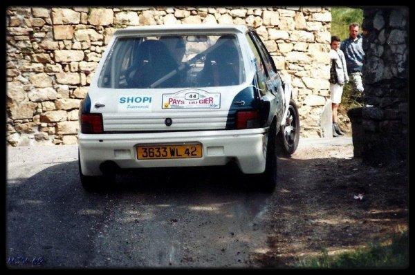 Rallye  pays du gier 1996