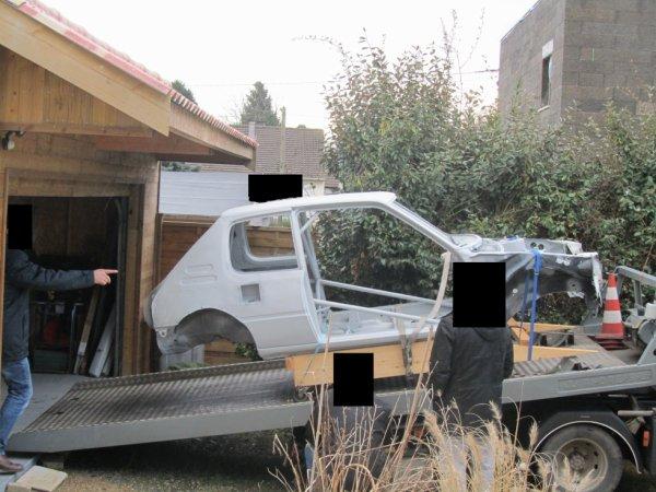 Départ carrosserie peinture