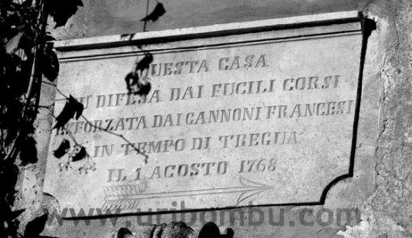 Patrimoniu, Olmeta di Capi Corsu, Nonza :
