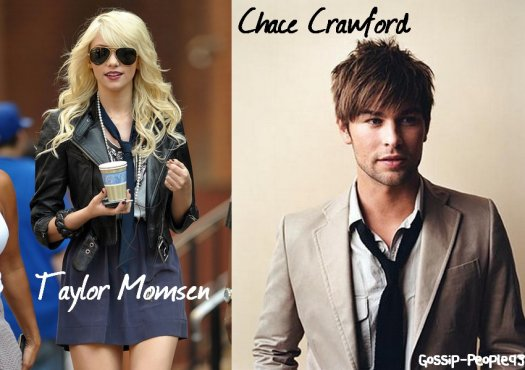 Taylor Momsen et Chace Crawford Joli petit Couple