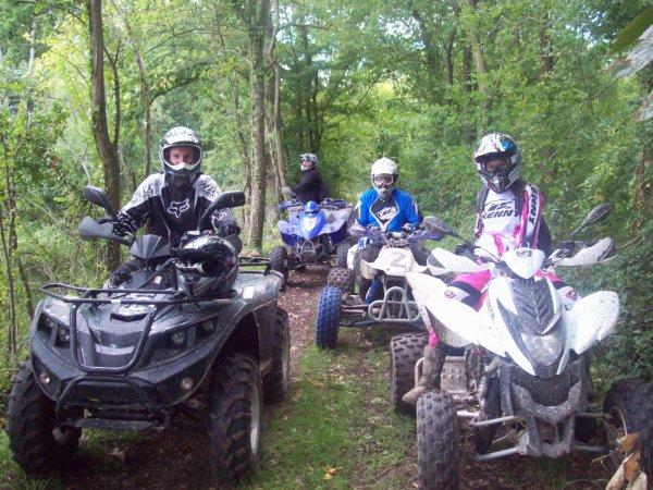 sortie quad Paucourt
