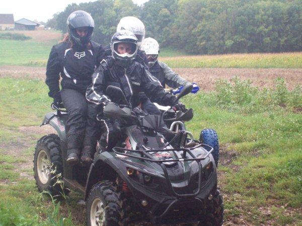 sortie quad La Selle-sur-le-bied