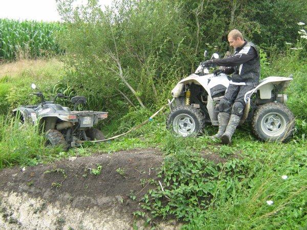 sortie quad Amilly