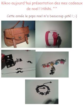 Le Papa noel est tres gentil ! ♥ ;)