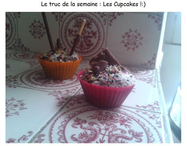 Comment appliquer son vernis + Les Cupcakes ! :)